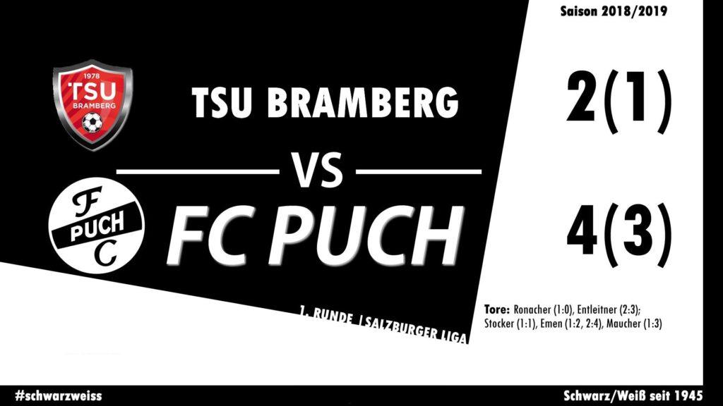 Auftaktsieg unserer Ersten bei der TSU Bramberg