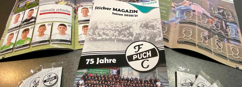 75 Jahre FC Puch – Das Stickeralbum im Jubiläumsjahr